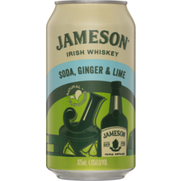 Photo of Jameson Lime Ginger Soda Can