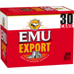 Photo of Emu Export Cans