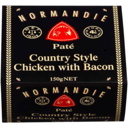 Photo of Normandie Country Style Chicken With Bacon Pate 150gm