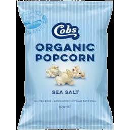 Photo of Cobs Organic Popcorn Sea Salt 80g