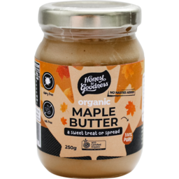 Photo of Honest To Goodness Maple Butter Organic 250ml
