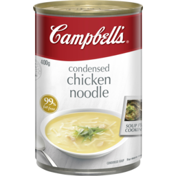 Photo of  Campbell's Condensed Chicken Noodle Soup 400g