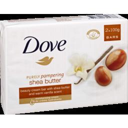 Photo of Dove Soap Bar Shea Butter Vanilla 2 Pack