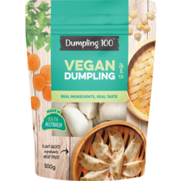 Photo of Dumpling 100 Vegan Dumplings 500g