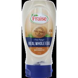 Photo of Praise Mayo Whl Egg Sqz 335gm