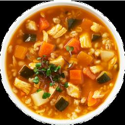 Photo of Marisa's Kitchen Chicken Veg & Barley Soup 500ml