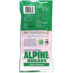 Photo of Alpine Breads Spelt & Barley 640gm