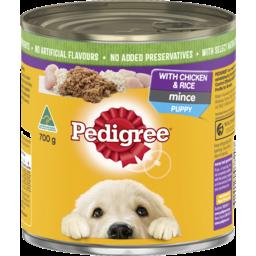 Photo of Pedigree Puppy Original with Chicken & Rice 700g