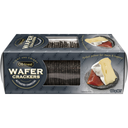 Photo of Ob Finest Wafers Activated Charcoal 100gm