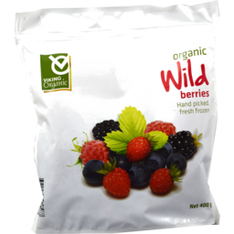 Photo of Viking Organic Wild Mixed Berries 400gm