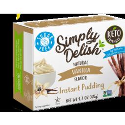 Photo of Simply Delish Vanilla Pudding