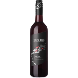 Photo of Tora Bay Premium Pinot Noir 750ml