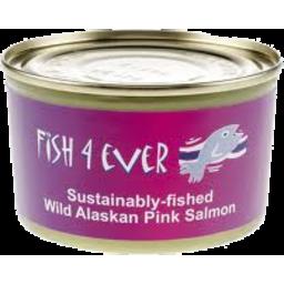 Photo of Fish 4 Ever Wild Alaskan Pink Salmon 160g