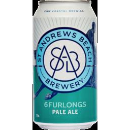 Photo of St Andrews Beach Brewery 6 Furlongs Pale Ale 375ml