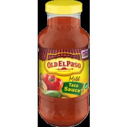Photo of Old El Paso Mild Taco Sauce, 8 Oz
