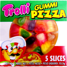 Photo of Trolli Gummi Pizza 15.5gm