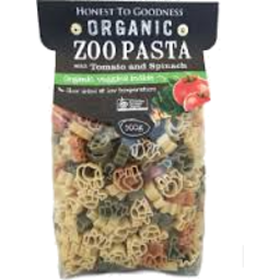 Photo of Organic Zoo Pasta With Tomato & Spinach 500g