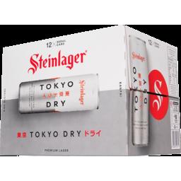 Photo of Steinlager Tokyo Dry 12 x 330ml Bottles