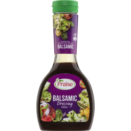 Photo of Praise Balsamic Dressing 330ml
