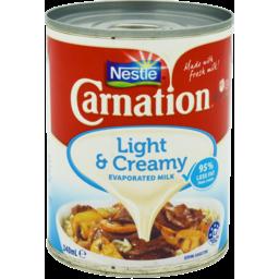 Photo of Carnation Light & Creamy Evaporated Milk 340ml