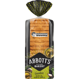 Photo of Abbott's Village Bakery Abbott'S Village Bakery® Sensations Olive Oil, Herb & Garlic 500g