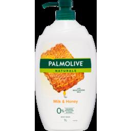 Photo of Palmolive Naturals Moisturising Shower Milk & Honey 1l
