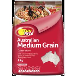 Photo of SunRice Australian Medium Grain White Rice 1kg