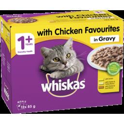 Photo of Whiskas Chicken 85gm 12pk