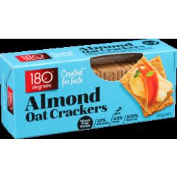 Photo of 180 Degrees Oat Cracker Natural 150g
