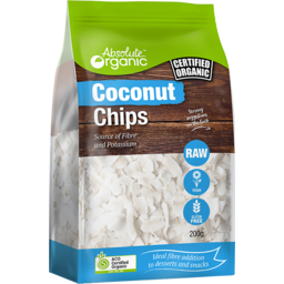 Photo of Absolute Organic Coconut Chips 200gm