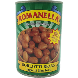 Photo of Romanella Borlotti Beans 400g