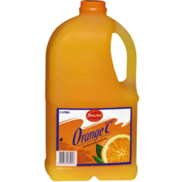 Photo of Brownes Orange C Fruit Drink 3L