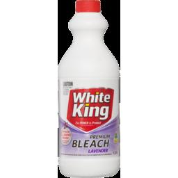Photo of White King Bleach Lavender 1.25l