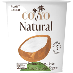 Photo of COYO Natural Coconut Yoghurt