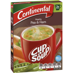Photo of Continental Cup A Soup Pea & Ham Hearty 2 Serves 52g