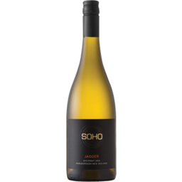 Photo of Soho Jagger Pinot Gris 750ml