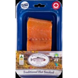 Photo of Woodbridge Hot Smoked Salmon Maple 150g