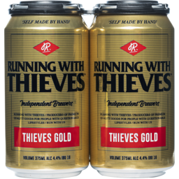 Photo of Running With Thieves Thieves Gold Can