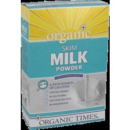 Photo of Organic Times Milk Powder - Skim