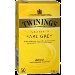 Photo of Twinings Tea Bags Earl Grey 50pk