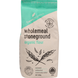 Photo of Ceres Organics Wholemeal Stoneground Flour 800g