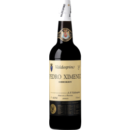 Photo of Valdespino Pedro Yellow Label Black Sherry