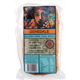 Photo of Dovedale Gluten Free Bread Chia Grain 630g