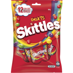 Photo of Skittles Fruits Share Packs 180gm