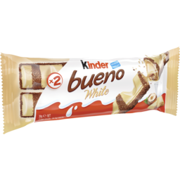 Photo of Kinder Bueno White Chocolate Bar 39g