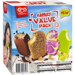 Photo of PETERS MULTIPACK ICECREAM FAMILY VARIETY  24S