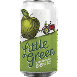 Photo of Little Green Crisp Apple Cider Can