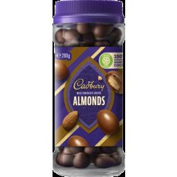 Photo of Cadbury Milk Chocolate Coated Almonds 280g