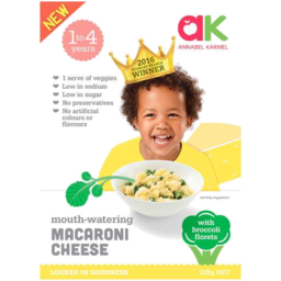 Photo of Annabel Karmel Macaroni Cheese 200gm