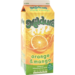 Photo of Mildura Sunrise Orange & Mango Fruit Drink 2l
